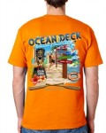 "Men's Ocean Deck T-Shirt ""Ocean View"""