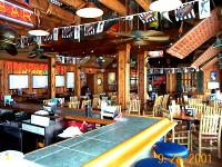 The Upper Deck Enjoy Our Air Conditioned Dinning Room With Lot S Of Tables And Screen Tv So You Can Catch All Located On Second Level