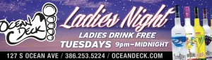 Ocean Deck - Ladies Night