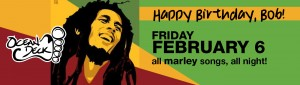 ocean deck - bob marley birthday 2015 billboard