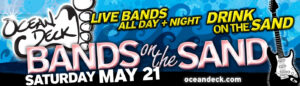 Bands on the Sand - May 21