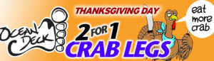 Ocean Deck Billboard Thanksgiving 2014